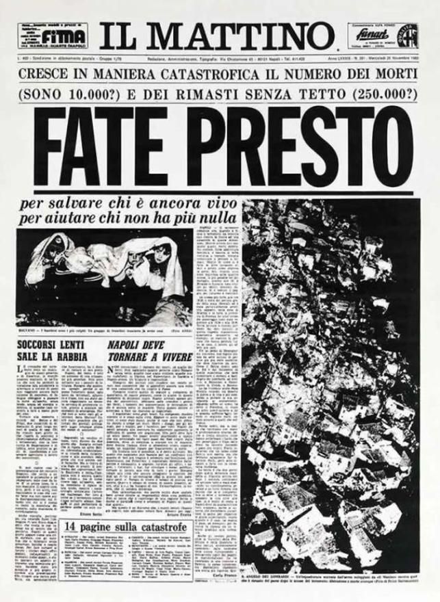 Quel che resta del 23 novembre 1980