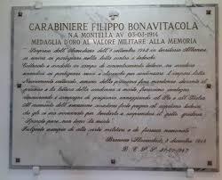 Filippo Bonavitacola: medaglia d'oro al valor militare